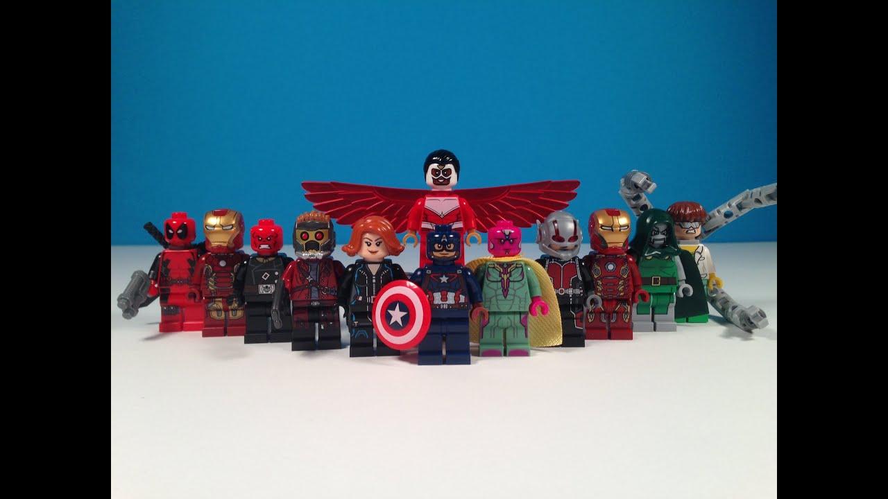 top 10 lego marvel minifigures