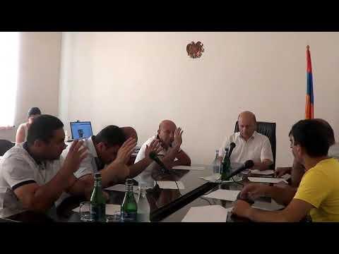 Բյուրեղավան համայնքի ավագանու արտ. նիստ-04.06.2019