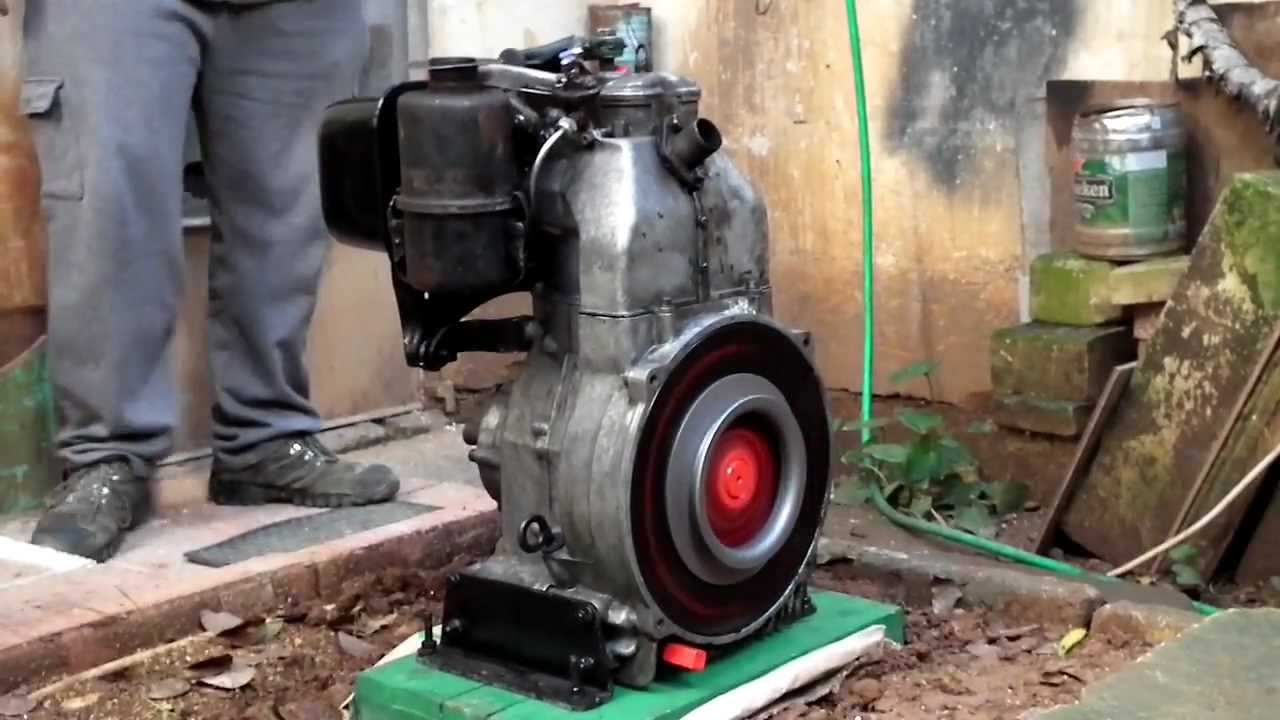DUCATI IS7 Stationary Engine - YouTube