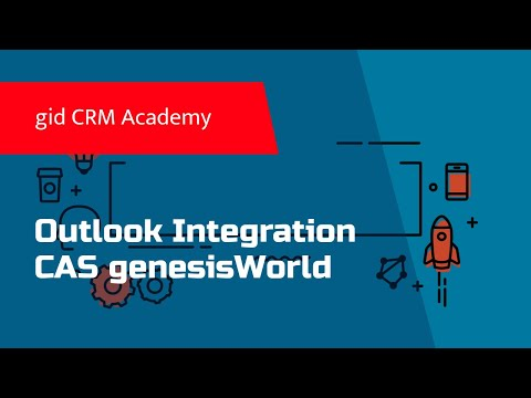CRM / xRM CAS genesisWorld - Outlook Integration