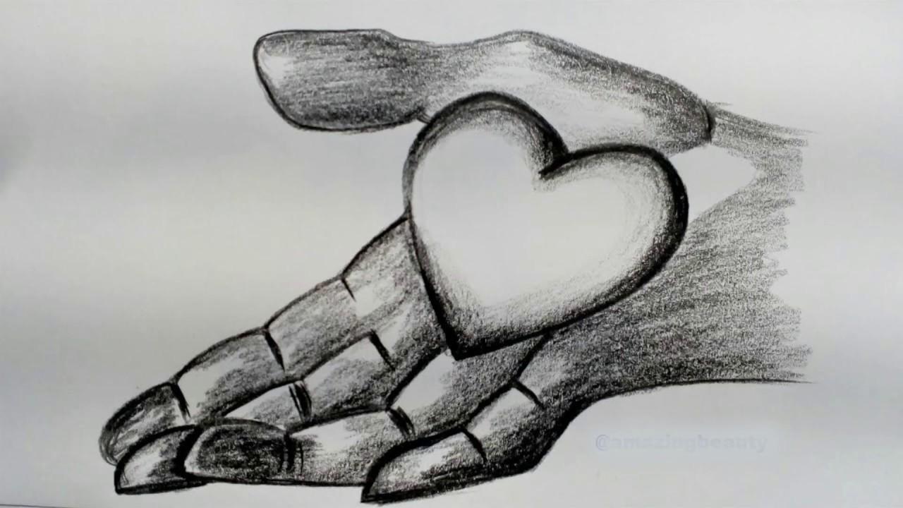 Картинки признание в любви парню для срисовки
