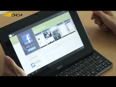 ACER ICONIA W500 DUAL BOOT ANDROID 4.0 AND WINDOWS 8 (CONSUMER PREVIEW)
