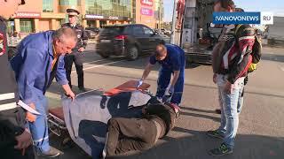 В Иванове разбился мотоциклист
