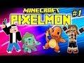 PIXELMON : Ep.1 - Séquestrez les tous !  - MOD Pokemon Minecraft [FR] [HD]