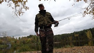 Рыбалка на щуку и форель. Ловля рыбы на Калиновских разрезах.