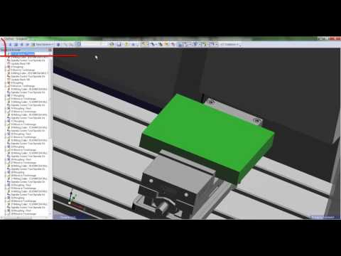 5. Edgecam TestDrive tutorial - Creating toolpaths in workflow
