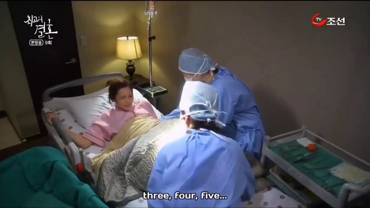 Giving Birth Scene In Drama Korea 4 Youtube
