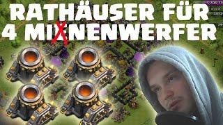 [facecam] BASES FÜR 4 MINENWERFER! || CLASH OF CLANS || LP COC [Deutsch/German HD]