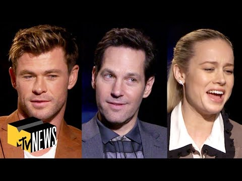 'Avengers: Endgame' Cast Play Name That Avenger | MTV News