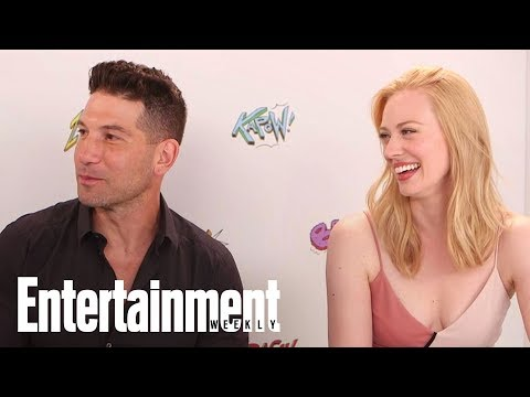 Jon Bernthal Says 'Daredevil' Frank Is Not The 'Punisher' Frank | SDCC 2017 | Entertainment Weekly