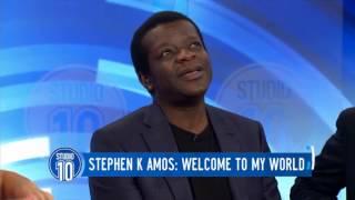 Stephen K Amos on Studio 10