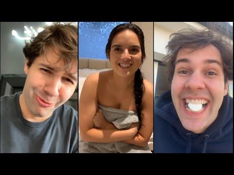 How David Dobrik Has Been Filling His Time - Vlog Squad IG stories 24