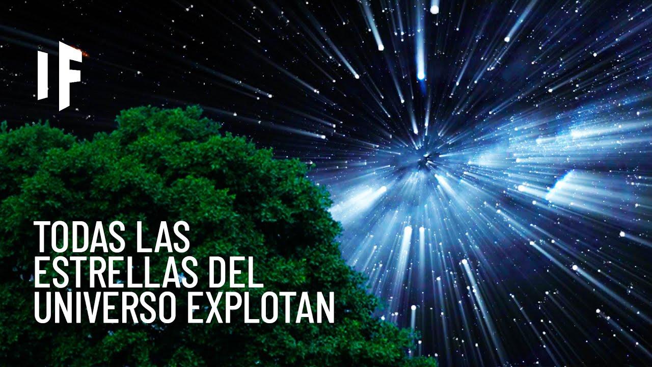 ¿Qué pasaría si todas las estrellas en el universo explotaran al mismo tiempo?