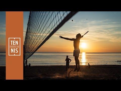 Beach tennis : du soleil, du sable, des plongeons et des émotions ! | FFT