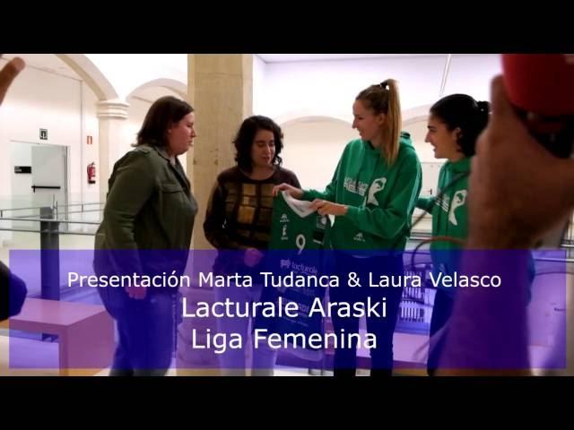 Presentaci�n Marta Tudanca y Laura Velasco. Lacturale Araski 16/09/2016