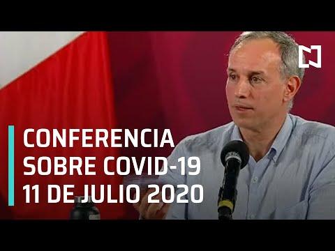 Conferencia Covid-19 en México -11 de Julio 2020