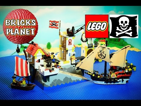 Imperial Trading Post 6277 LEGO Pirates - Stop Motion Review