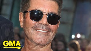 Simon Cowell fights off reports he'll be bedridden for months after e-bike accident l GMA