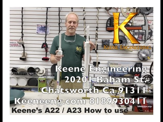 Keene A22 and A23 Gold Suction Gun