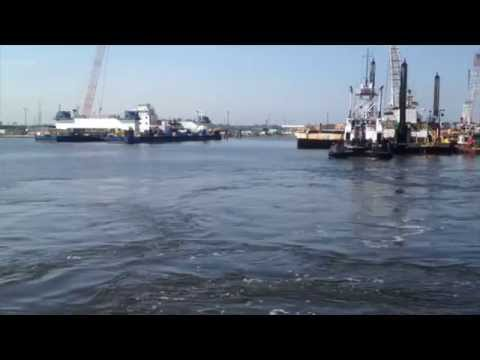 2014 05 30 Navigating into Norfolk:Portsmouth, VA