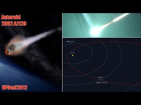 Asteroid 2002 AJ129 goes to Earth at 108,000 km/h