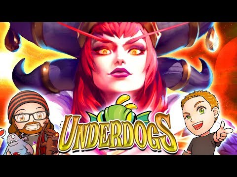 The Underdogs | MFPallytime, Mewnfare & Horsepants! Heroes of the Storm