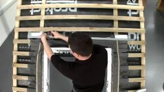 Видеоинструкция по монтажу мансардных окон VELUX(Купить мансардные окна VELUX в Херсоне можно в компании