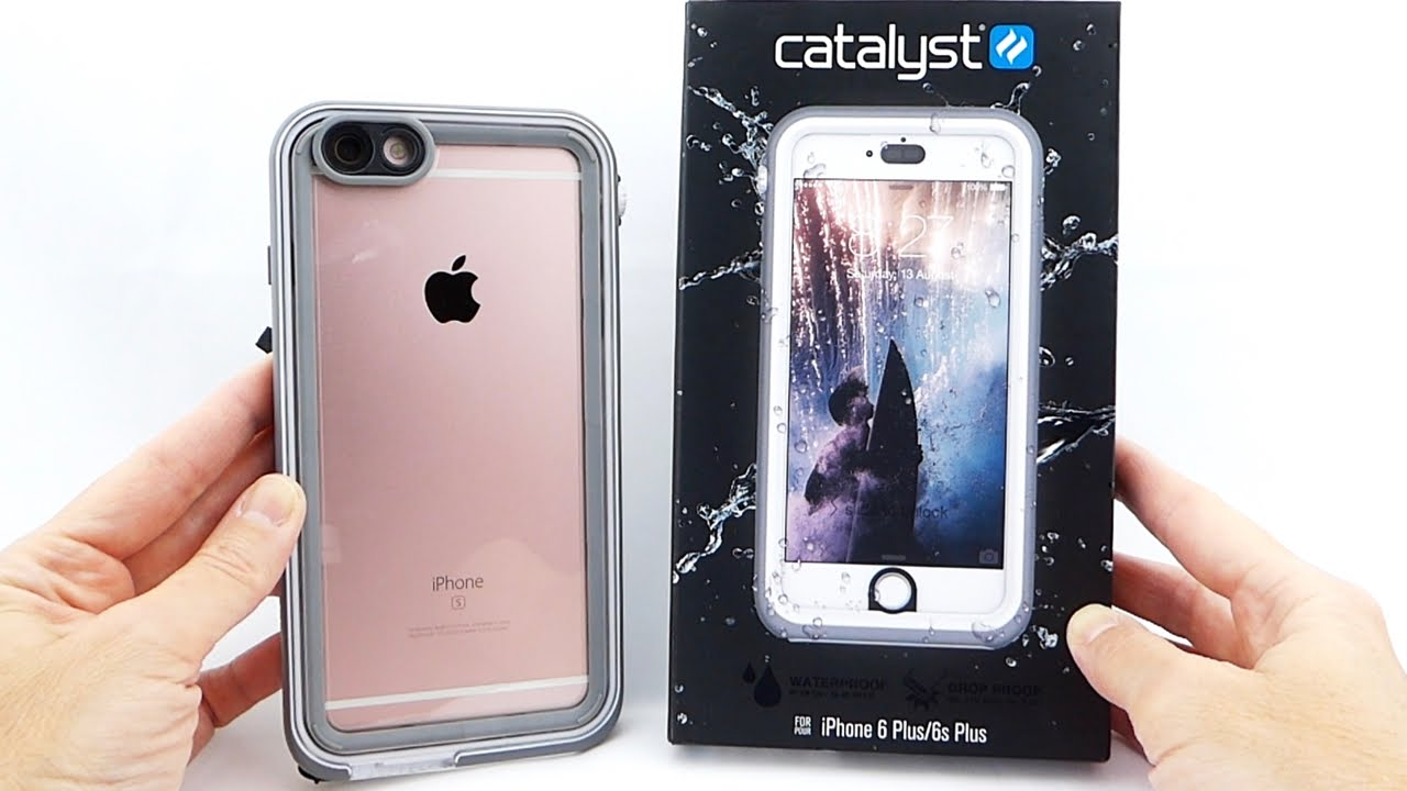 f6c8a4c24fbfd3 Catalyst Case for iPhone 6s Plus: Waterproof to 5 Meters, but Screen  Protector Disappoints.