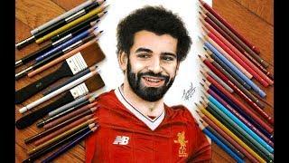 Drawing Salah .... Liverpool