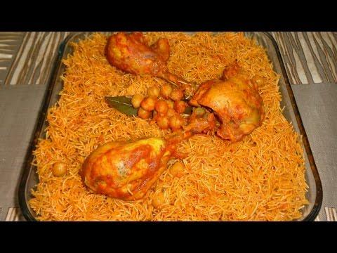 Douida tunisienne au poulet - دويدة مفورة بالدجاج