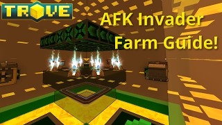 AFK Invader Farm Guide! How to Build an Invader Farm in Trove!