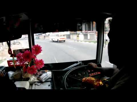 Crazy bus driver in Sri Lanka. thumbnail