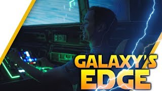 GALAXY'S EDGE: Flying The Falcon, Building A Lightsaber & More