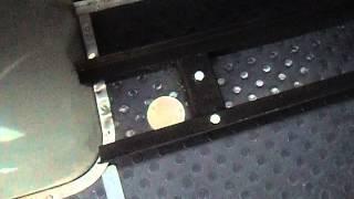 ГБО  EuropeGas  на УАЗ 29891 Крепление баллона