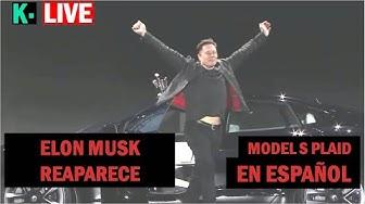Imagen del video: MOTOR: Espectacular estreno del nuevo Tesla Model S Plaid