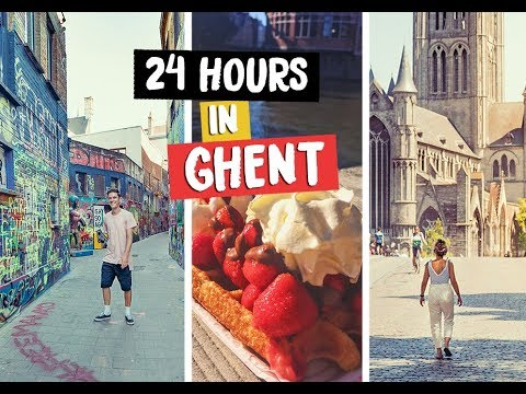 24 HOURS IN GHENT BELGIUM EUROTUNNEL ROAD TRIP PT 1 #Ad