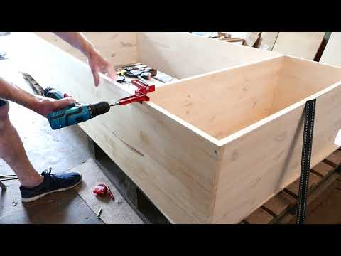 Как самому сделать шкаф из мебельных щитов