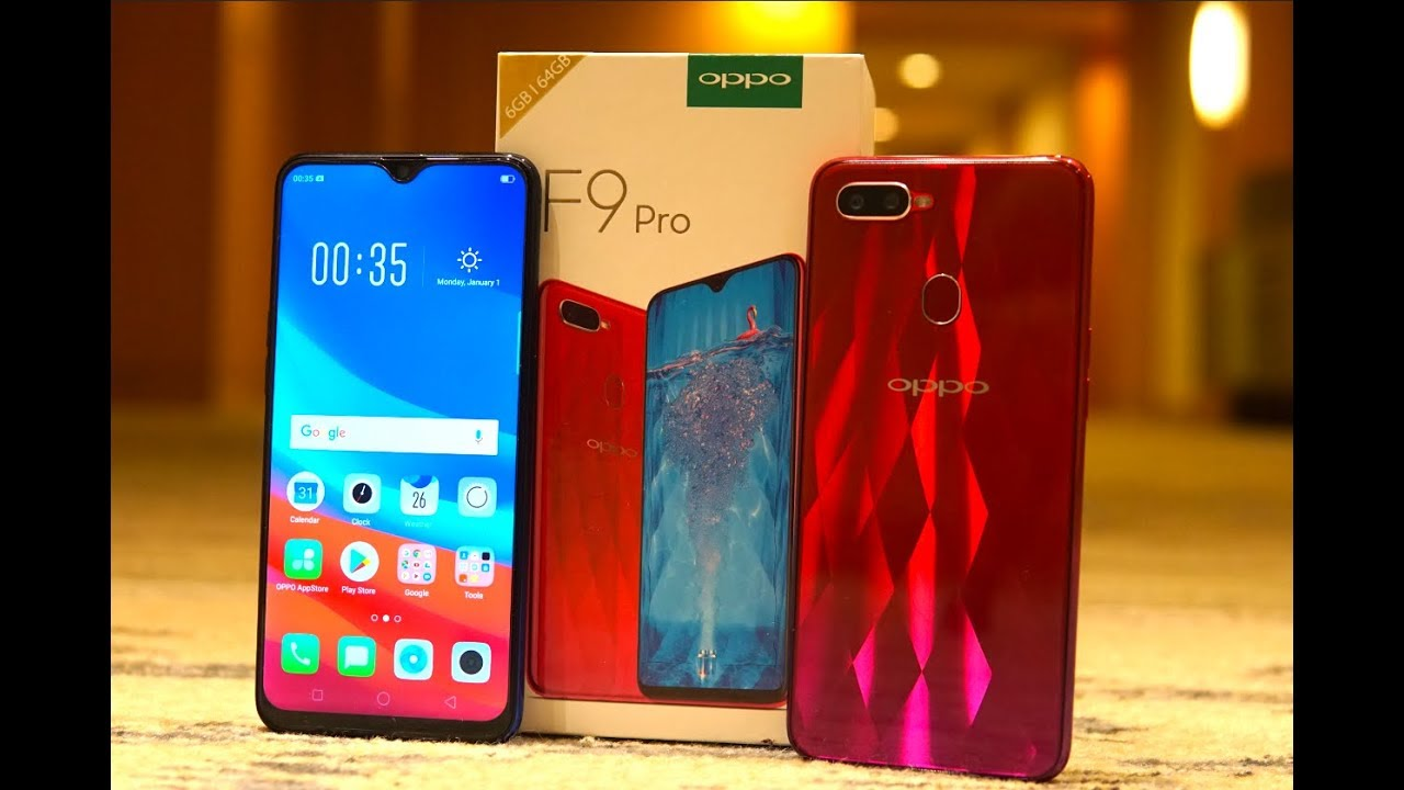 Oppo F9 Pro Unboxing, Hands on, Camera, Features, Price, India