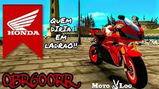 HONDA CBR600RR COM BRAÇOS (PARA MOTOVLOG) 1° MOTO BY EU | GTA SA ANDROID MODS