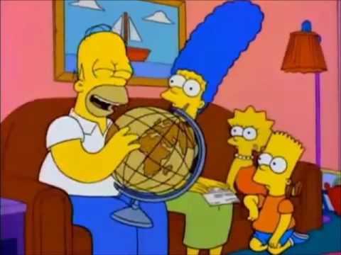Homer Simpson vind u-are-gay (Uruguay)