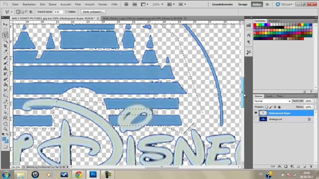 WaterDesigne¦ Real Disney Intro tutorial by WaterDesigne