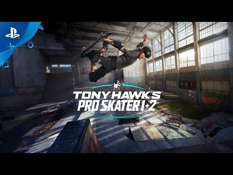 Tony Hawk's Pro Skater 1 + 2 - Announce Trailer   PS4