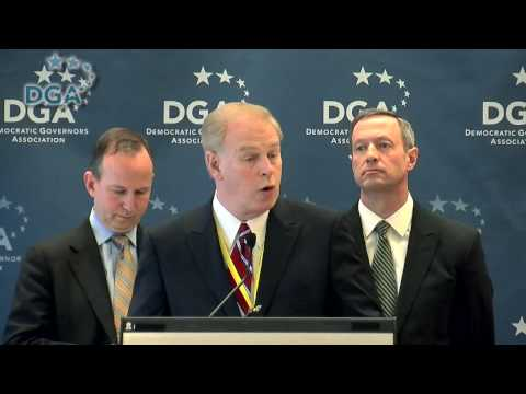 DGA Press Conference: Ohio Governor Ted Strickland