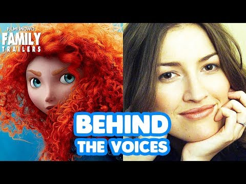 BRAVE   Behind The Voices Of The Disney Pixar Family Animted Movie