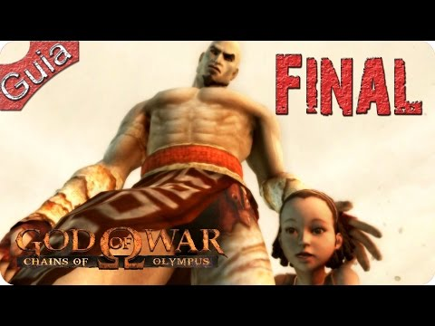 God of War Chains of Olympus - Modo Dios - 100% Playthrough [1080p 60fps]