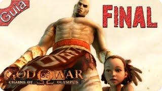 God of War Chains of Olympus HD Walkthrough Final Español
