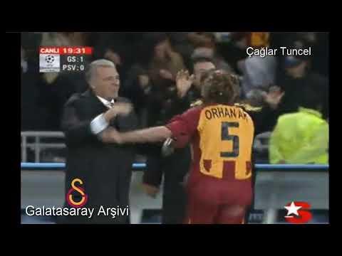 2006 2007 Galatasaray'ın Şampiyonlar Ligi Golleri