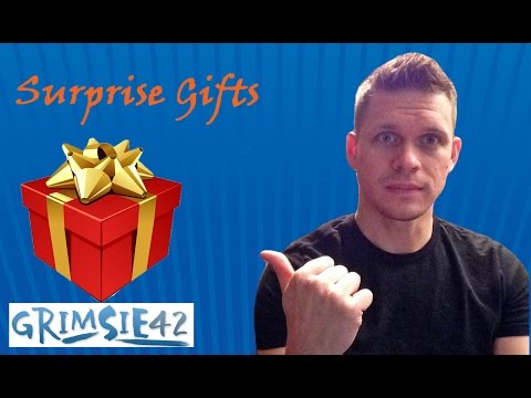 Awesome Video Game Trade, and Epic Gifts  Grimsie42