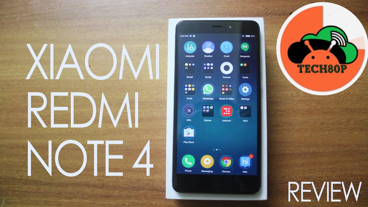 Xiaomi Redmi Note 4 Review Androidguru Eu: Xiaomi Redmi Note 4