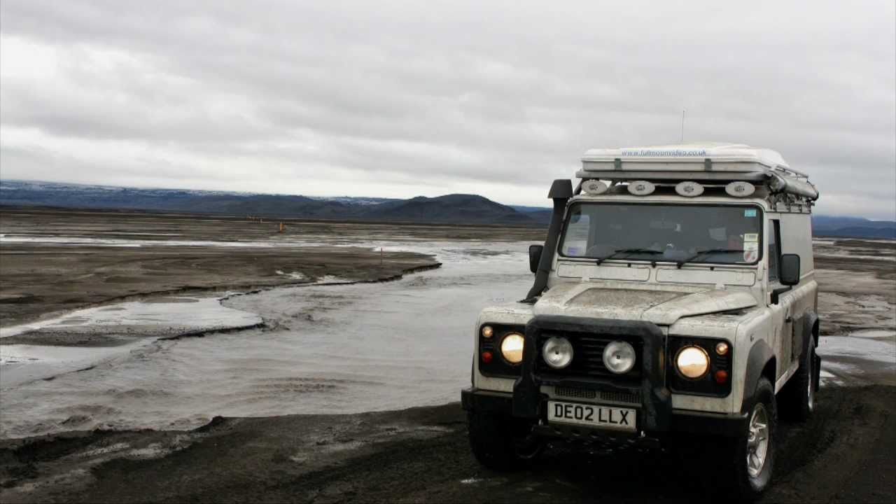 F910 To Askja Iceland Land Rover Defender 110 Youtube